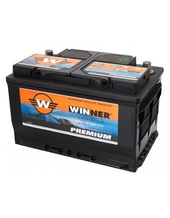 Μπαταρία αυτοκινήτου Winner Premium 57540 - 12V 75Ah - 640CCA(EN) εκκίνησης