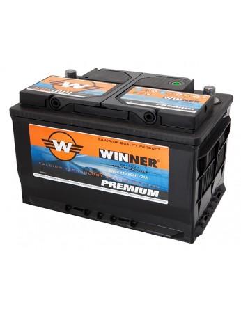 Μπαταρία αυτοκινήτου Winner Premium 58046 - 12V 80Ah - 720CCA(EN) εκκίνησης