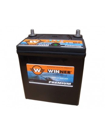 Μπαταρία αυτοκινήτου Winner Premium 53522 - 12V 35Ah - 330CCA(EN) εκκίνησης