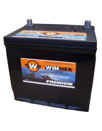 Μπαταρία αυτοκινήτου Winner Premium 56069- 12V 60Ah - 550CCA(EN) εκκίνησης