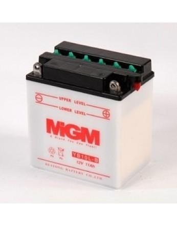 Μπαταρία μοτοσυκλετών MGM Yumicron YB10L-B - 12V 12 (10HR) - 160 CCA (EN) εκκίνησης