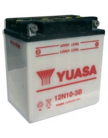 Μπαταρία μοτοσυκλετών YUASA Conventional 12N10-3B - 12V 10 (10HR) - 103 CCA (EN) εκκίνησης