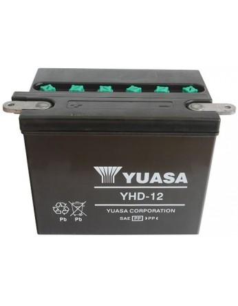 Μπαταρία μοτοσυκλετών YUASA Conventional YHD-12 - 12V 28 (10HR) - 240 CCA (EN) εκκίνησης