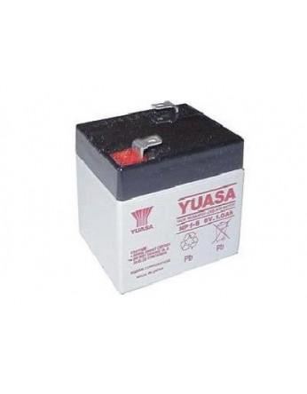 Μπαταρία YUASA NP1-6 VRLA - AGM τεχνολογίας - 6V 1Ah