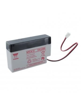 Μπαταρία YUASA NP0.8-12 VRLA - AGM τεχνολογίας - 12V 0.8Ah