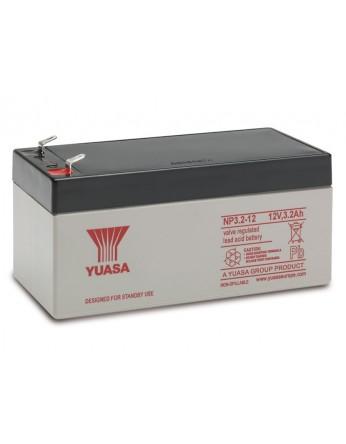 Μπαταρία YUASA NP3.2-12 VRLA - AGM τεχνολογίας - 12V 3.2Ah