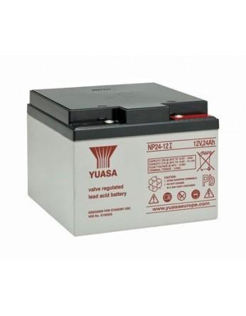 Μπαταρία YUASA NP24-12l VRLA - AGM τεχνολογίας - 12V 24Ah