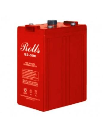 Μπαταρία Rolls Series AGM βαθιάς εκφόρτισης S2-590AGM - 2V 550Ah (C20)