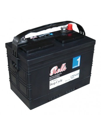 Μπαταρία Rolls FS Series βαθιάς εκφόρτισης 12-FS-105 - 12V 105Ah (C20)