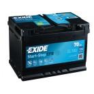 Μπαταρία αυτοκινήτου Exide EFB Start & Stop EL700 - 12V 70 Ah - 720CCA A(EN) Εκκίνησης