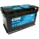 Μπαταρία αυτοκινήτου Exide AGM Start & Stop EK800 - 12V 80 Ah - 800CCA A(EN) Εκκίνησης