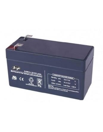 Μπαταρία B&P DJW 12-1.3 VRLA - AGM τεχνολογίας - 12V 1.3Ah (C20)