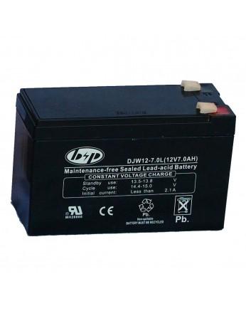 Μπαταρία B&P DJW 12-7.0 VRLA - AGM τεχνολογίας - 12V 7.0Ah