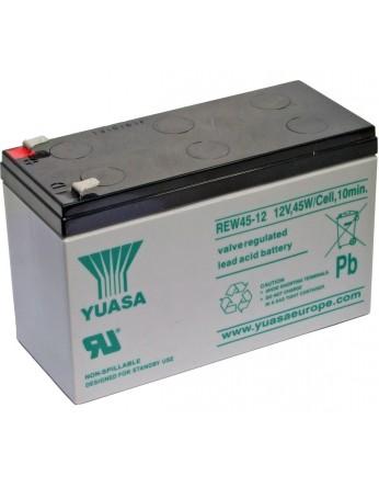 Μπαταρία YUASA REW45-12 long life VRLA - AGM τεχνολογίας - 12V 45 watt / κελί