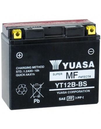 Μπαταρία μοτοσυκλετών YUASA TAIWAN Maintenance Free YT12B-BS - 12V 10 (10HR)Ah - 210 CCA(EN) εκκίνησης