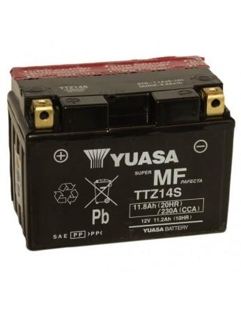Μπαταρία μοτοσυκλετών YUASA TAIWAN High Performance Maintenance Free YTZ14S / TTZ14S -12V 11.2 (10HR)Ah - 230 CCA(EN) εκκίνησης (με υγρά)