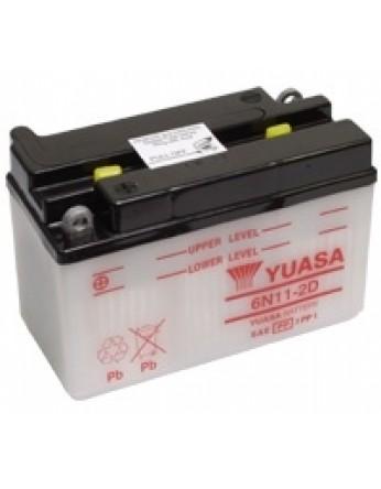Μπαταρία μοτοσυκλετών YUASA Conventional 6N11-2D - 6V 11 (10HR)