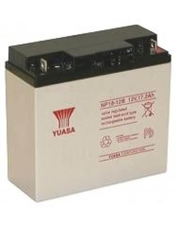 Μπαταρία YUASA NP18-12 VRLA - AGM τεχνολογίας - 12V 18Ah