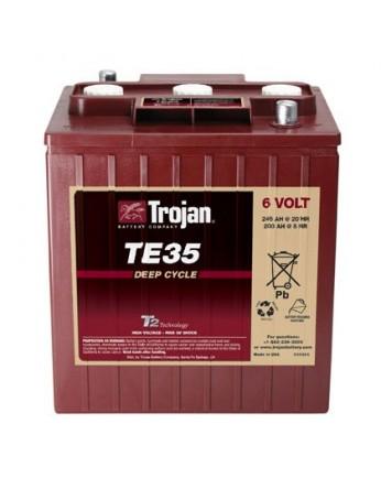 Μπαταρία Trojan Deep - Cycle Flooded βαθιάς εκφόρτισης TE35 - 6V 245Ah (C20)