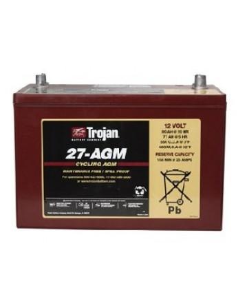 Μπαταρία Trojan Deep - Cycle AGM βαθιάς εκφόρτισης 27- AGM -12V 89Ah (C20)