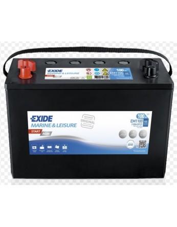 Μπαταρία Exide Start AGM EM1100 - 12V 100Ah - 925CCA A(EN) εκκίνησης