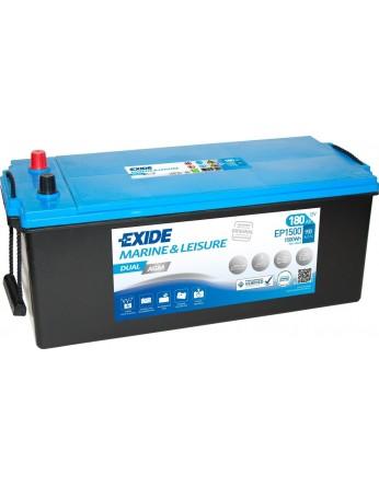 Μπαταρία Exide Dual AGM EP1500 - 12V 180Ah - 900CCA A(EN) εκκίνησης