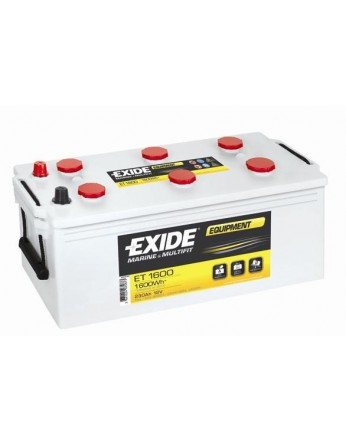 Μπαταρία Exide Equipment ET1600 - 12V 230Ah