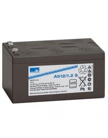 Μπαταρία Sonnenschein A512/1.2 S - GEL τεχνολογίας - 12V 1.2Ah