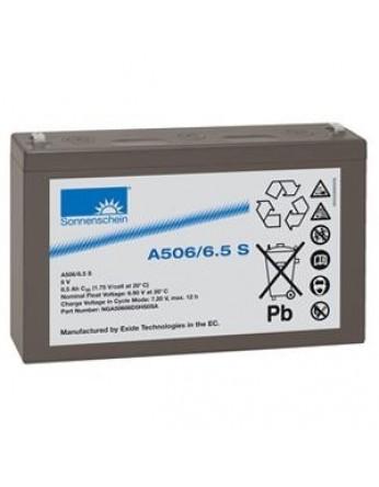 Μπαταρία Sonnenschein A506/6.5 S - GEL τεχνολογίας - 6V 6.5Ah