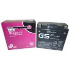 Μπαταρία μοτοσυκλετών GS AGM (factory activated) GT14B-4 - 12V 12Ah (10HR) - 210 CCA(EN) εκκίνησης