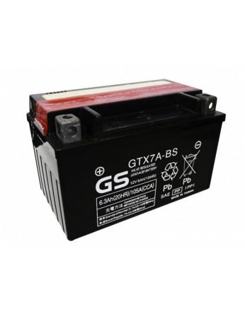 Μπαταρία μοτοσυκλετών GS Maintenance Free GTX7A-BS - 12V 6 Ah(10HR) - 85 CCA(EN) εκκίνησης