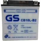 Μπαταρία μοτοσυκλετών ανοιχτού τύπου GS CB10L-B2 - 12V 11 (10HR)