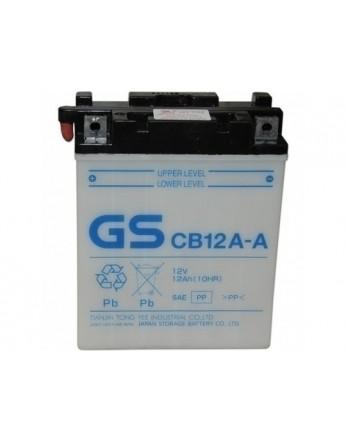 Μπαταρία μοτοσυκλετών ανοιχτού τύπου GS CB12A-A - 12V 12 (10HR)