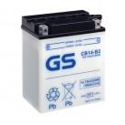 Μπαταρία μοτοσυκλετών ανοιχτού τύπου GS CB14-B2 - 12V 14 (10HR)