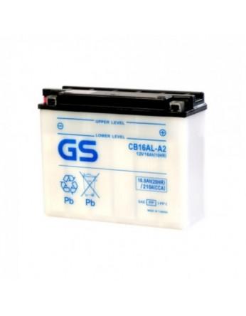 Μπαταρία μοτοσυκλετών ανοιχτού τύπου GS CB16AL-A2 - 12V 16 (10HR)