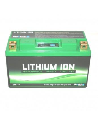 Μπαταρία μοτοσυκλετών SKYRICH Τεχνολογίας Λιθίου LFP-10, 12V - 300A