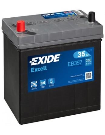Μπαταρία αυτοκινήτου Exide Excell EB357 - 12V 35Ah - 240 CCA A(EN) εκκίνησης