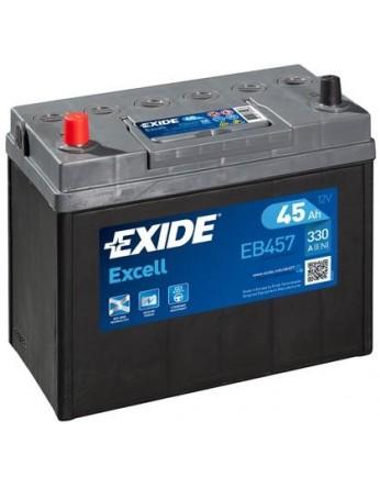 Μπαταρία αυτοκινήτου Exide Excell EB457 - 12V 45Ah - 300 CCA A(EN) εκκίνησης
