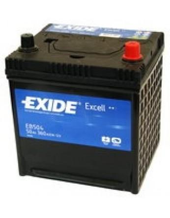 Μπαταρία αυτοκινήτου Exide Excell EB504 - 12V 50Ah - 360 CCA A(EN) εκκίνησης