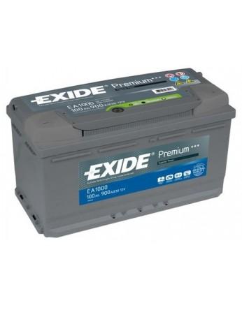 Μπαταρία αυτοκινήτου Exide Premium EA1050 - 12V 105 Ah - 850CCA A(EN) εκκίνησης