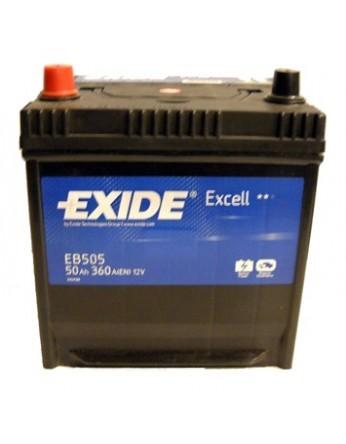 Μπαταρία αυτοκινήτου Exide Excell EB505 - 12V 50Ah - 360 CCA A(EN) εκκίνησης