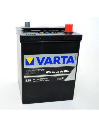 Μπαταρία Varta Promotive Black E29 - 6V 70 Ah - 300CCA A(EN) εκκίνησης