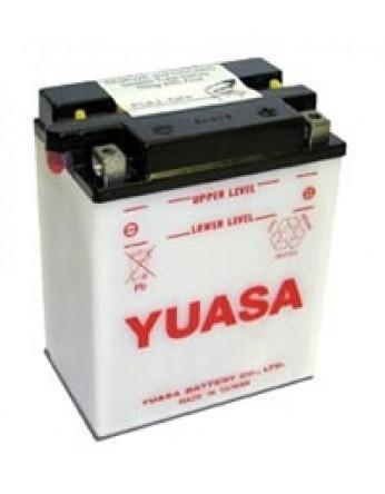 Μπαταρία μοτοσυκλετών YUASA Conventional 12N5.5-4A - 12V 5.5 (10HR) - 60 CCA (EN) εκκίνησης