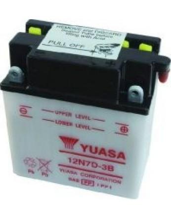 Μπαταρία μοτοσυκλετών YUASA Conventional 12N7D-3B - 12V 7 (10HR) - 74 CCA (EN) εκκίνησης