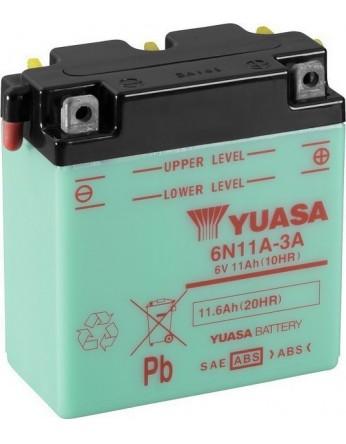 Μπαταρία μοτοσυκλετών YUASA Conventional 6N11A-3A - 6V 11 (10HR)