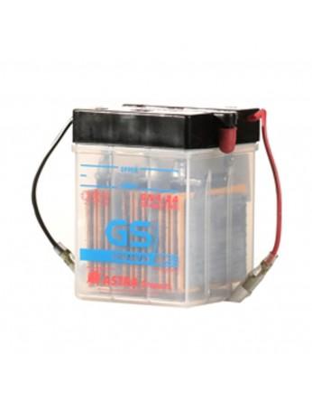 Μπαταρία μοτοσυκλετών ανοιχτού τύπου GS Conventional 6N4-2A-4 - 6V 4 (10HR)