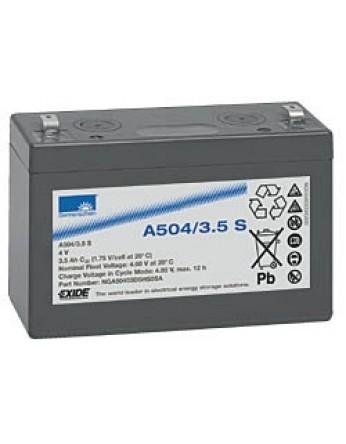 Μπαταρία Sonnenschein A504/3.5 S - GEL τεχνολογίας - 4V 3.5Ah