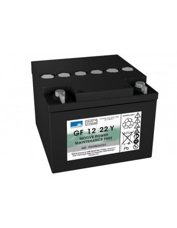 Μπαταρία Sonnenschein GF 12 022 Y F - GEL τεχνολογίας - 12V 24Ah