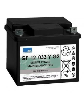 Μπαταρία Sonnenschein GF 12 033 Y G2 - GEL τεχνολογίας - 12V 38Ah