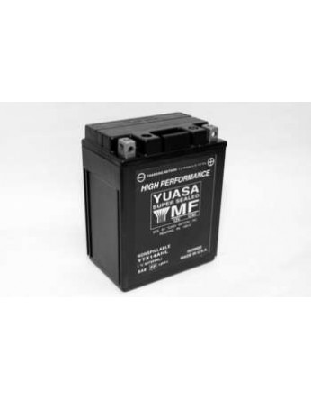 Μπαταρία μοτοσυκλετών YUASA High Performance Maintenance Free YTX14AHL - BS -12V 12 (10HR)Ah - 210 CCA(EN) εκκίνησης